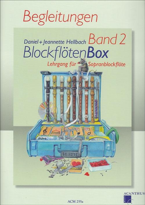 Hellbach, Daniel - BlockflötenBox 2 -  Klavierbegleitungen