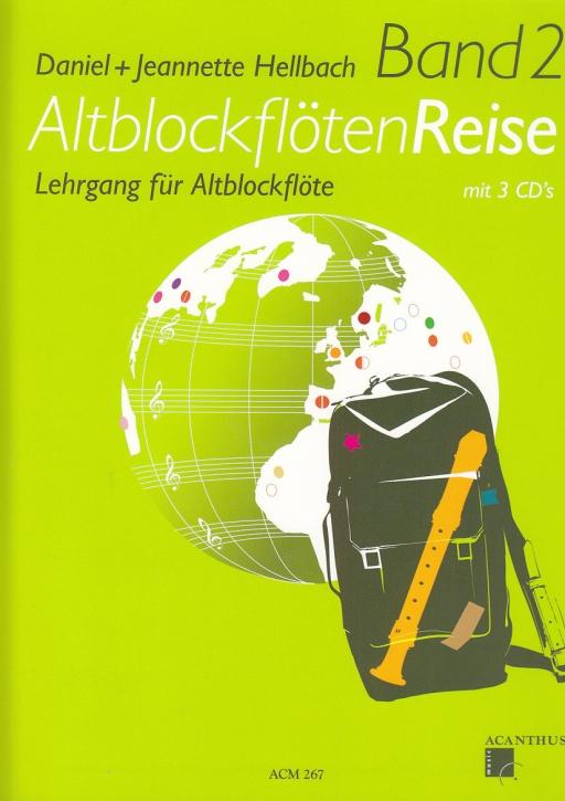 Hellbach, Daniel und Jeanette - AltblockflötenReise 2 -