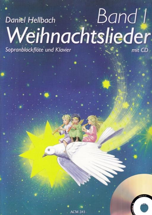 Hellbach, Daniel - Carols - soprano recorder, piano + CD