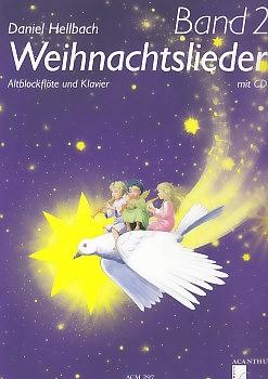 Hellbach, Daniel - Carols - treble recorder, piano + CD, Vol. 2