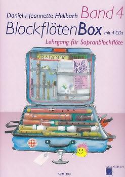 Hellbach, Daniel - BlockflötenBox 4 -  Lehrgang für Sopranblockflöte mit CD<br><b>NEU !</b>