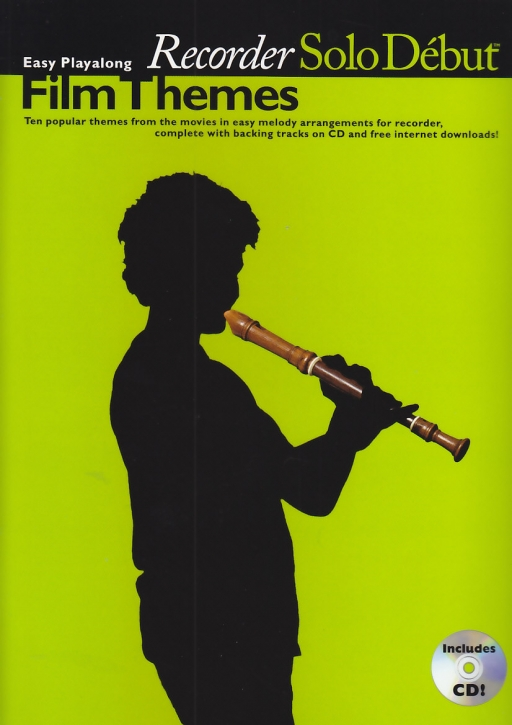 Film Themes -  Soprano recorder & CD