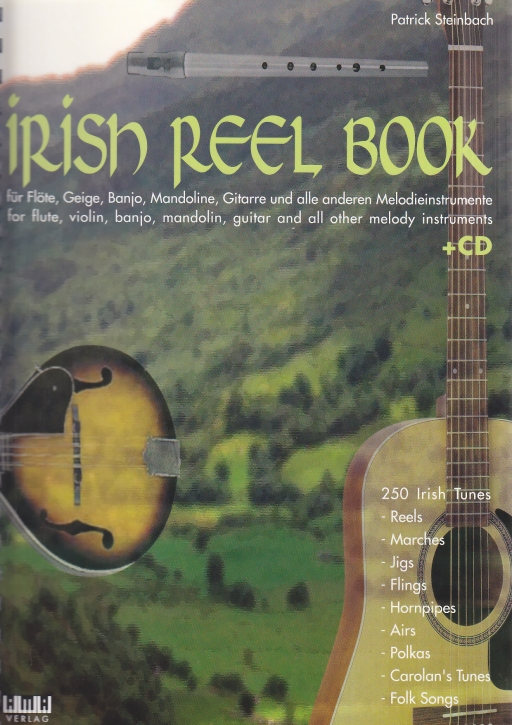 Irish Reel Book (+ CD) - Sopran- oder Tenorflöte / Tin Wistle