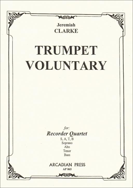 Clarke, Jeremiah - Trumpet Voluntary - SATB