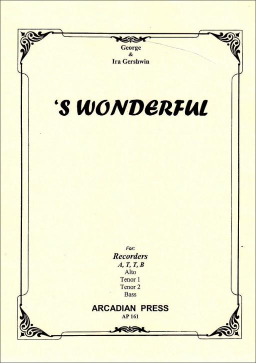 Gershwin, George  - 'S Wonderful - ATTB