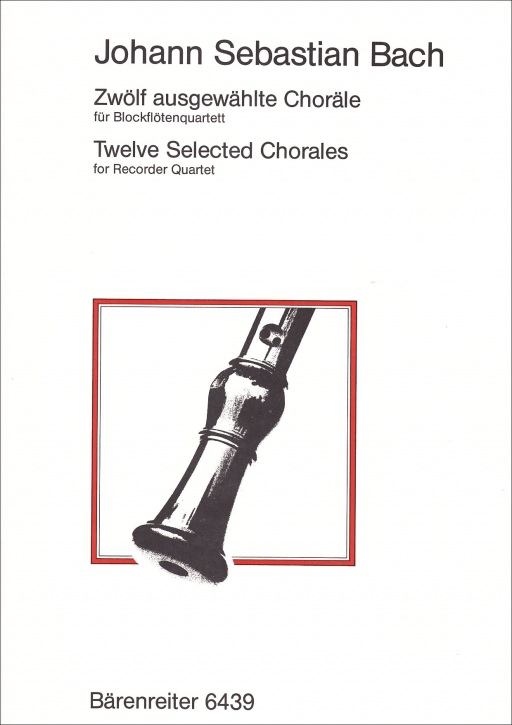 Bach, Johann Sebastian - twelve selected chorals SATB