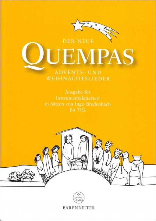 Der neue Quempas - the new Quempas - for Recorder Quartet