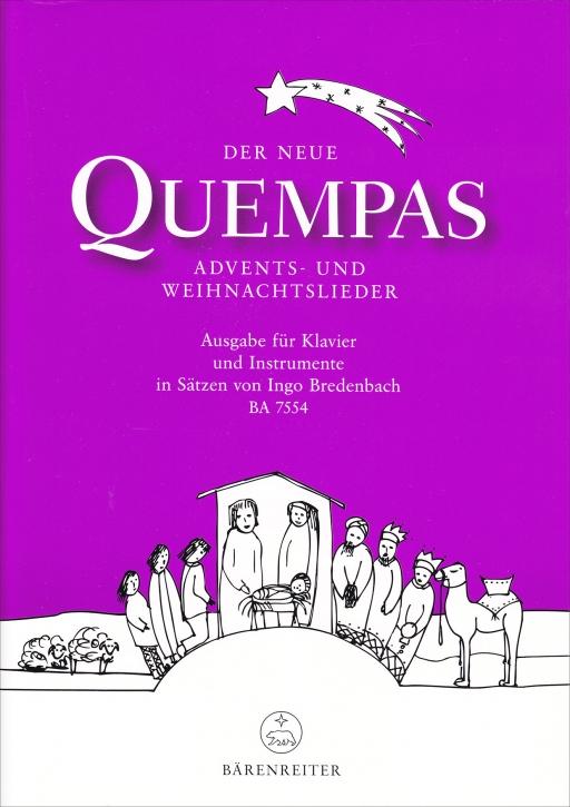 The New Quempas - Christmas Songs for Recorder Quartet SATB