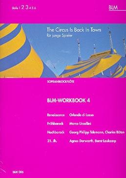 Schmidt-Laukamp, Ursula (Hrg.) - BLM-Workbook 4 - Sopranblockflöte