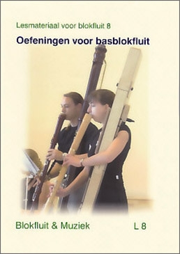 Kaldeway, Hermann; Oefeningen voor basblokfluit - Übungen für die  Bassblockflöte