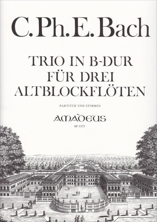 Bach, Carl Philipp Emanuel - Trio B-dur - AAA