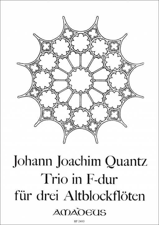 Quantz, Johann Joachim - Trio F-major- AAA