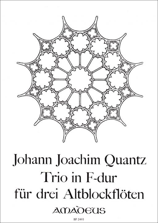 Quantz, Johann Joachim - Trio F-dur - AAA