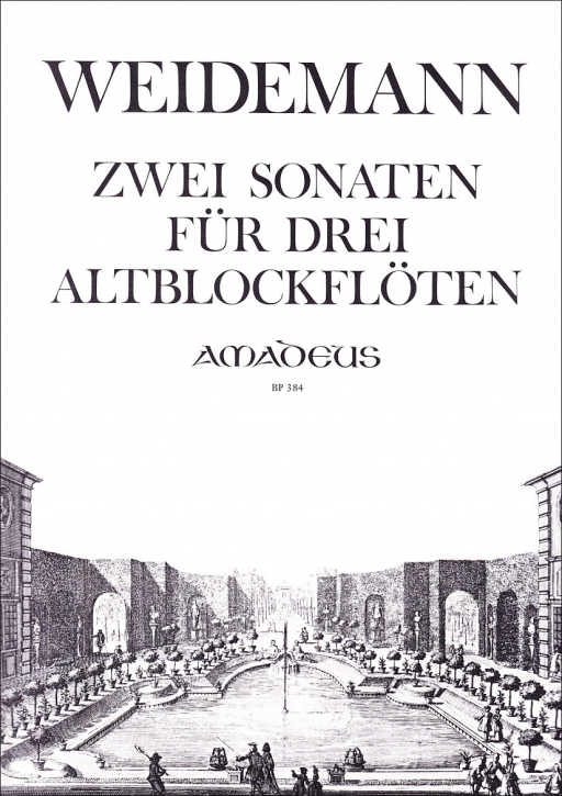 Weidemann, Karl-Friedrich - 2 Sonaten op. 3/3+6 - AAA