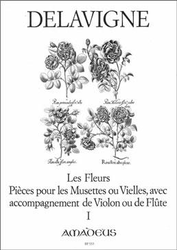 Delavigne, Philibert - Les Fleurs -  Band 1  2 Altblockflöten