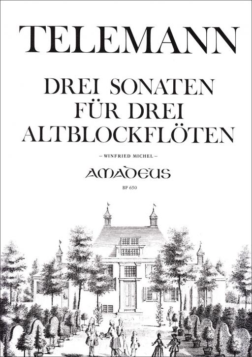Telemann, G.Ph. - 3 Sonaten - AAA