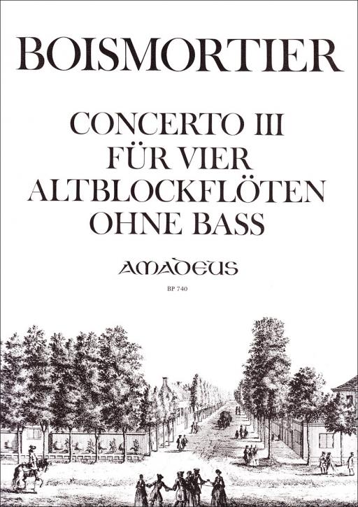 Boismortier, Joseph Bodin de - Concerto III F-dur - AAAA