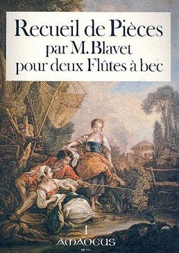 Blavet, Michel - Premier  Recueil de Pièces - Heft 1  2 Altblockflöten