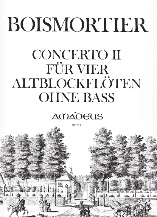 Boismortier, Joseph Bodin de - Concerto II c-moll - AAAA