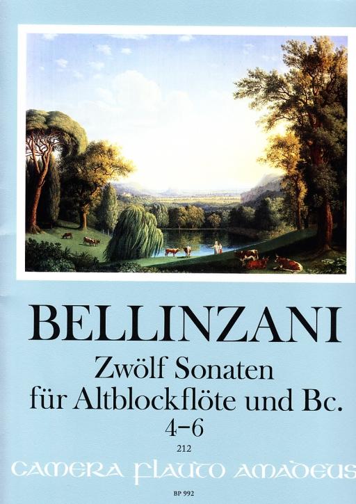 Bellinzani, Paolo Benedetto - Sonatas op. 3  Vol. 2 - Treble recorder and Basso continuo