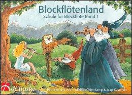 Voort, P. van der - Blockflötenland -  Band 1