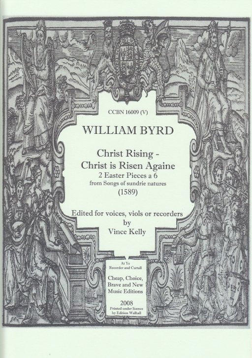 Byrd, William - Christ Rising / Christ is Risen Againe - AAATTB