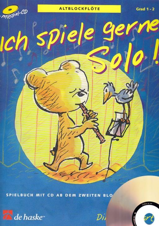 Goedhardt, Dini - Ich spiele gerne Solo - Altblockflöte + CD