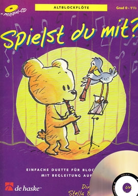 Goedhardt, Dini - Spielst Du mit? -  treble recorder + CD