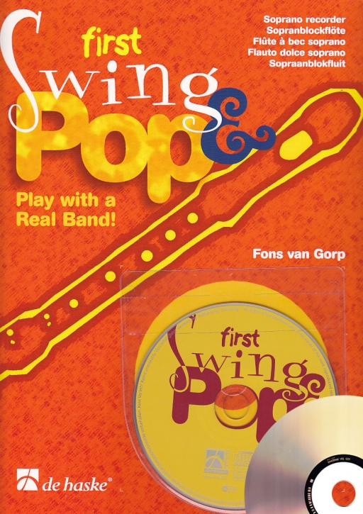 Gorp, Fons van - First Swing and Pop - Soprano recorder +CD