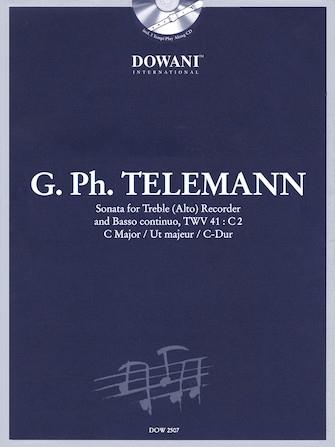 Telemann, Georg Philipp - sonata c major - treble recorder, Bc + CD