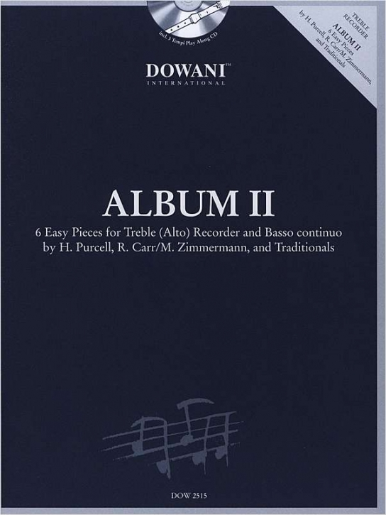 Album III - seven easy pieces- treble recorder + CD