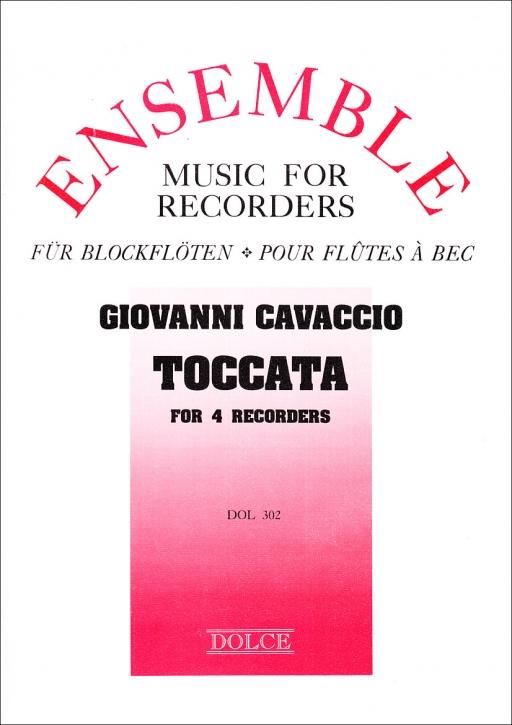 Cavaccio, Giovanni - Toccata detta la Licina  - SATB