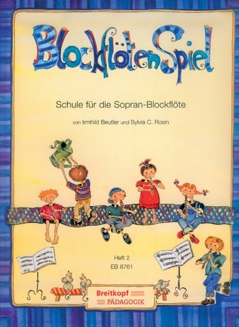 Beutler, Irmgard / Rosin, Sylvia - BlockflötenSpiel, Heft 2 -