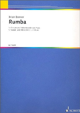 Bonsor, Brian - Rumba - SAT and Piano