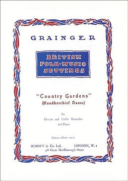 Country Gardens - recorderduets with piano