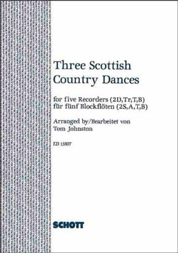 Three Scottish Country Dances - (Arr. T. Johnston) SSATB