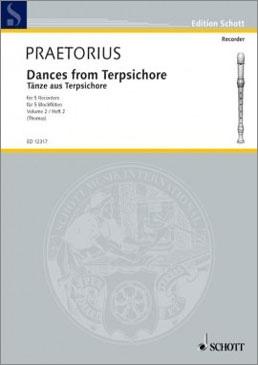 Praetorius, Michael - Tänze aus Terpsichore - Blockflötenquintett