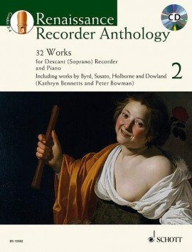 Bowmann, Peter / Heyens, Gudrun - Baroque Recorder Anthology  2 - soprano recorder, piano and CD