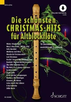 Die schönsten Christmas-Hits für 1 - 2 Altblockflöten (mit Audio Download)