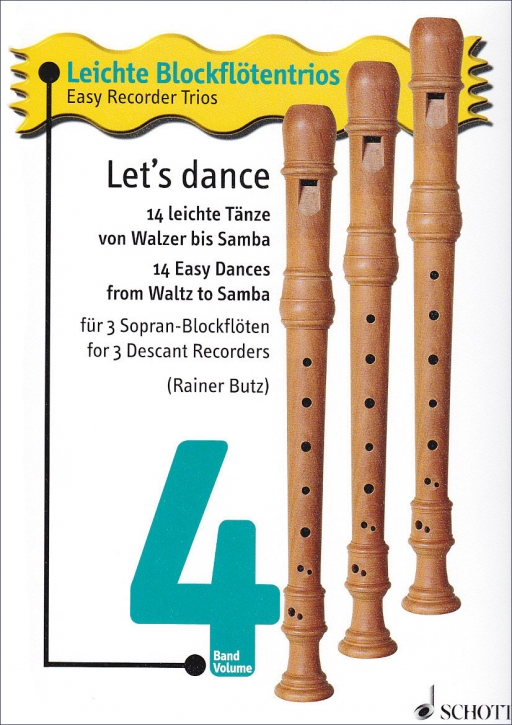 Easy Recorder Trios 4 - Let's dance - SSS