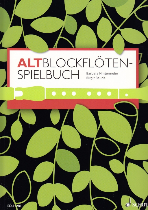 Hintermeier/Baude - Altblockflötenspielbuch -