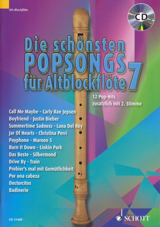 Bye, Uwe - Die schönsten Popsongs Band 7 - 2 Alto Recorders + CD