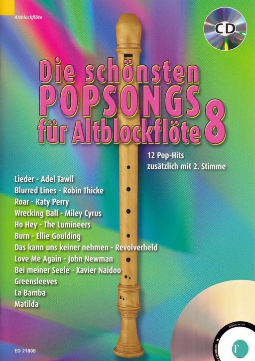 Bye, Uwe - Die schönsten Popsongs Band 8 - treble recorder + CD