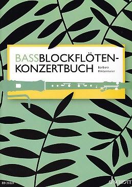 Hintermeier, Barbara - Bassblockflöten-Konzertbuch<br><br>NEU!