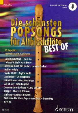 Bye, Uwe - Best OF Die schönsten Popsongs - Altblockflöte+ MP3 Download