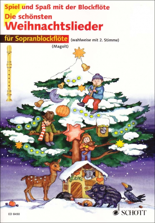 Spiel und Spaß mit der Blockflöte - the most beautiful christmas songs - 1 - 2 Soprano Recorders