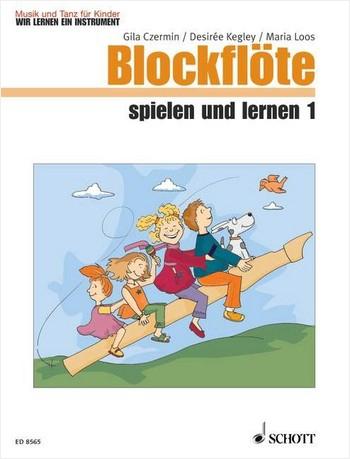 Czermin / Kegley / Loos - Blockflöte  spielen und lernen -  Band 1