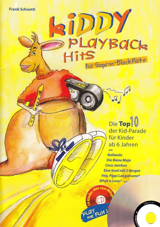 Schoettl, Frank - Kiddy Playback Hits 1 - Sopranblockflöte + CD
