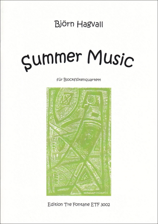 Hagvall, Björn - Summer Music - SATB