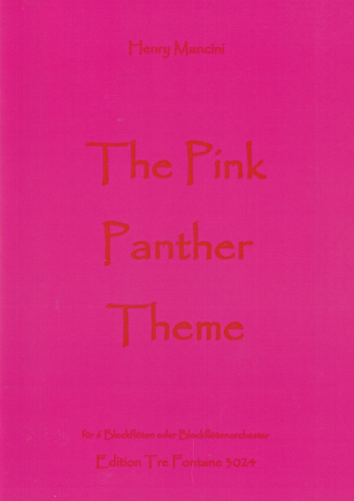 Mancini, Henry - The Pink Panther - A(+SSn)ATBGbSb